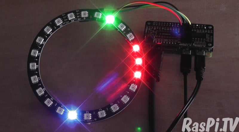 Raspberry Pi Roundup featuring a (very) blinky NTP clock, a wireless IP camera and a headless Pi tutorial