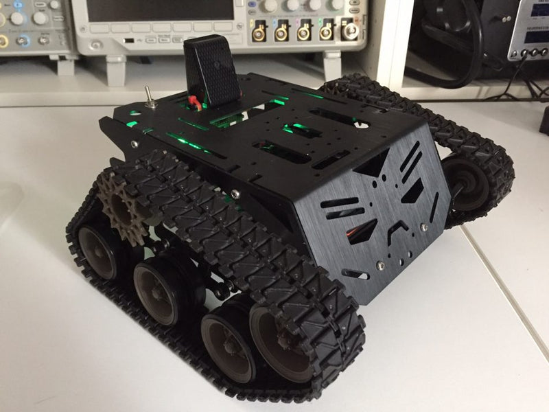 Raspberry Pi Roundup - a robot tank, a stage musical camera and paint with a Wiimote