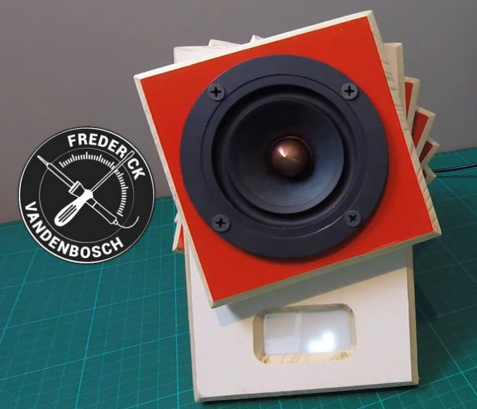Raspberry Pi Roundup - a spiral speaker, an ESP8266 tutorial and a thermal printing camera