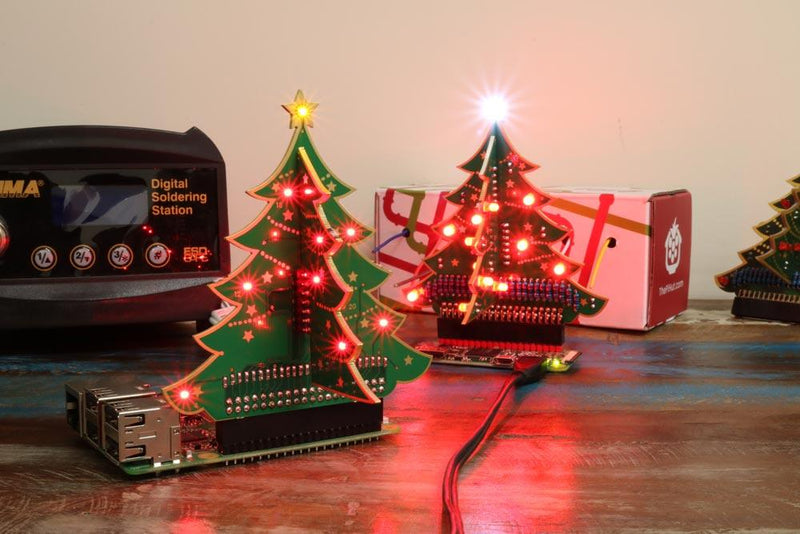 Raspberry Pi Roundup - the Christmas Tree returns, a low tide display and a Star Wars-themed MP3 player
