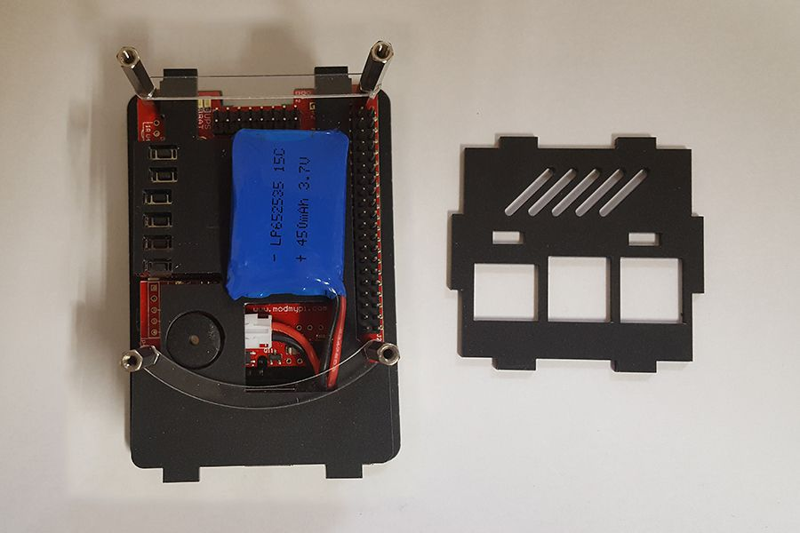 PIco UPS Cases - Standard - Assembly Instructions | The Pi Hut
