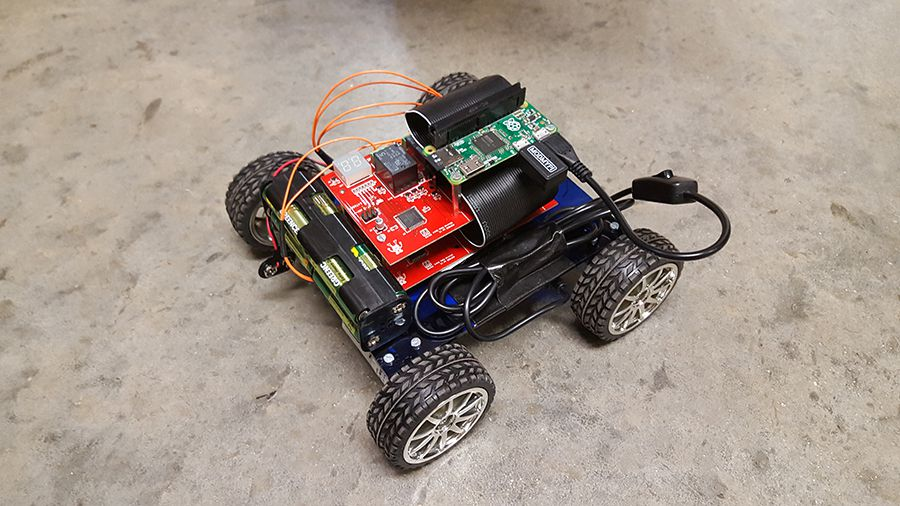 Controlling Motors with Relays | The Pi Hut