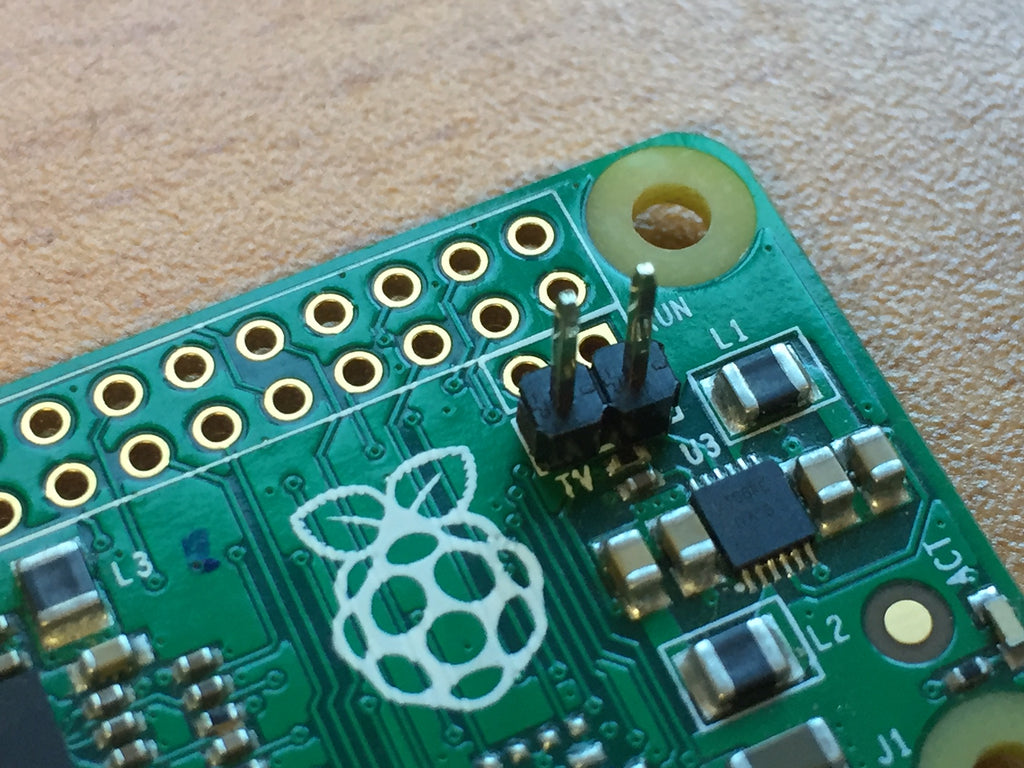 How to add an RCA TV Connector to a Raspberry Pi Zero | The