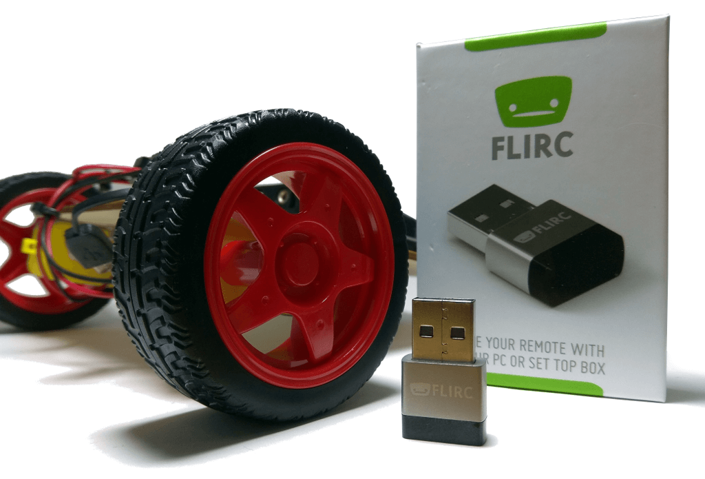 EduKit robot with FLIRC USB