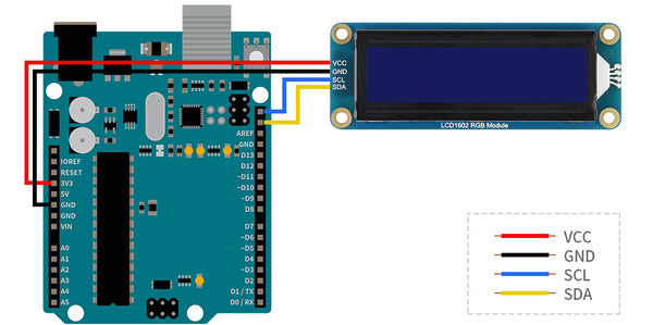 LCD1602 with Arduino