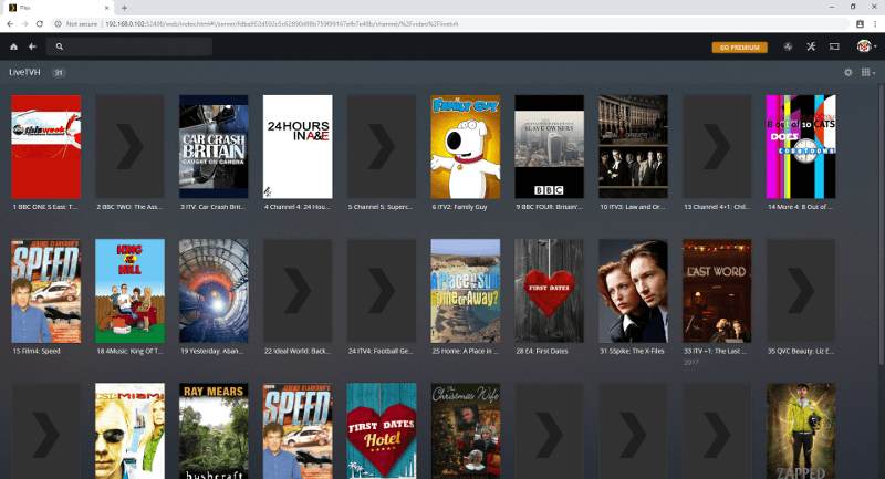 Watch Digital TV in Plex with the Raspberry Pi TV HAT | The