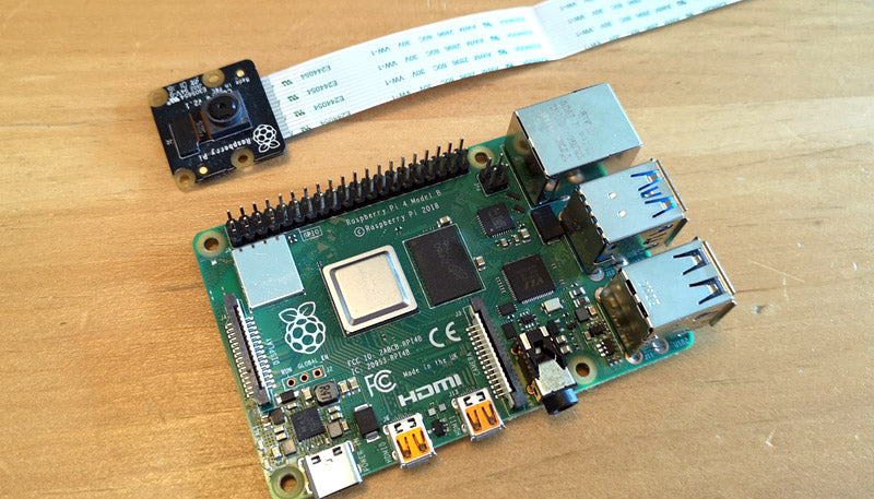 Raspberry Pi and camera module
