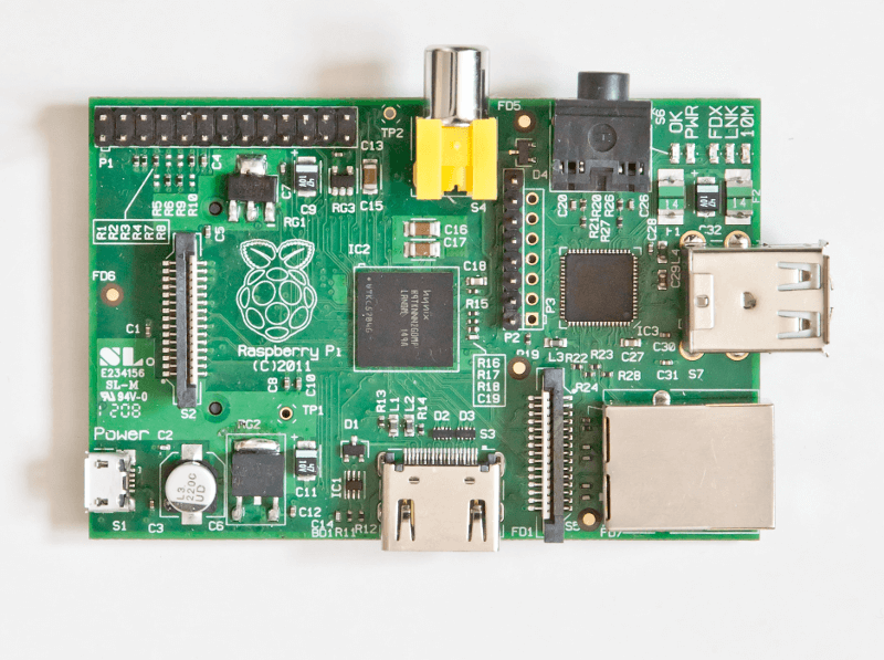 Raspberry Pi Rev 1 Model B
