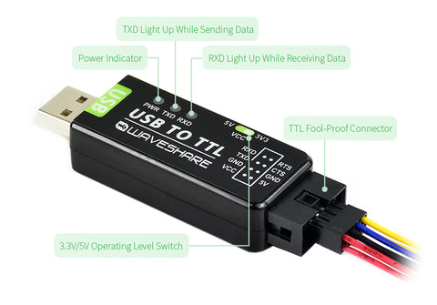 USB to TTL features