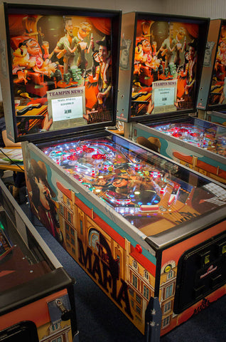 Raspberry Pi Roundup - a Mafia-inspired pinball machine, a
