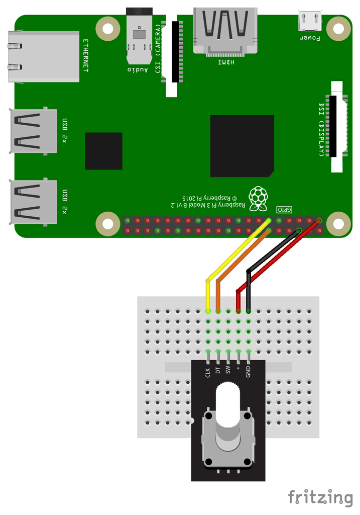 How to use a Rotary Encoder with the Raspberry Pi | The Pi Hut