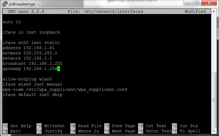 Tutorial - How to give your Raspberry Pi a Static IP Address