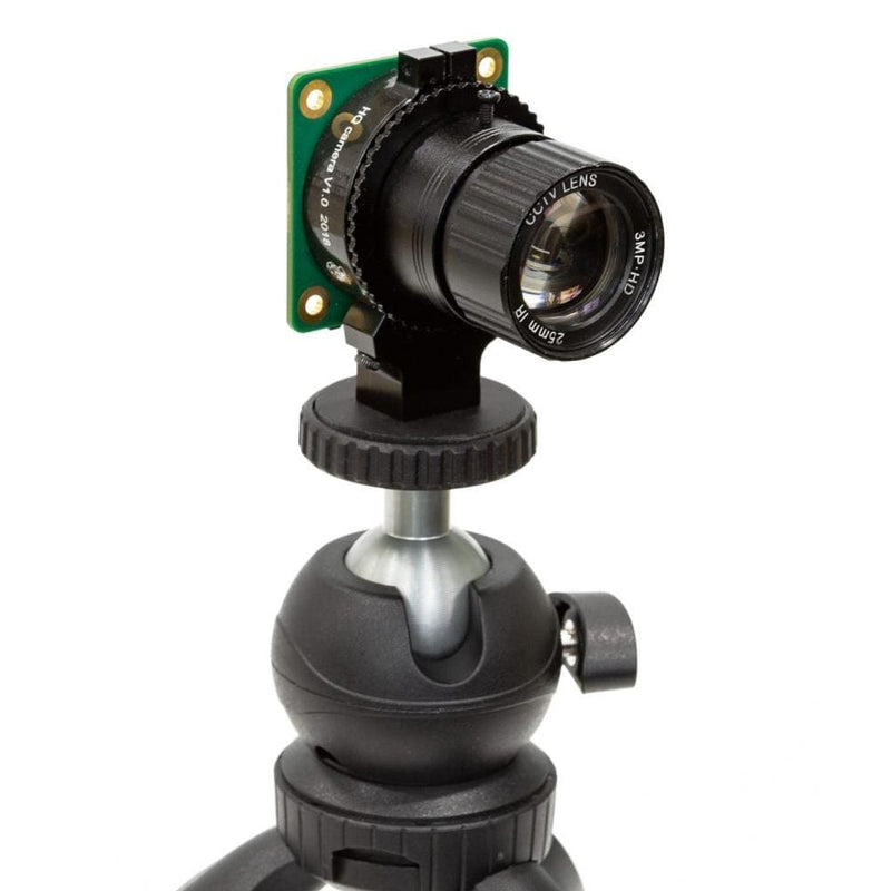 360-Degree Variable Height Ball Head Tripod for Raspberry Pi High Quality Camera