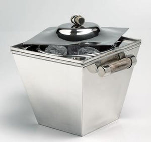 Thermic ice bucket with bone handles - DeCampos