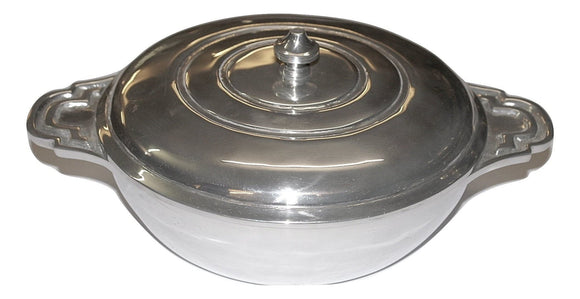 Covered dish with rounded handles - DeCampos