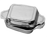 Square covered dish (double) - DeCampos
