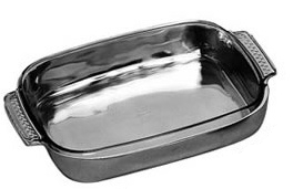 Large rectangular tray with pyrex - DeCampos