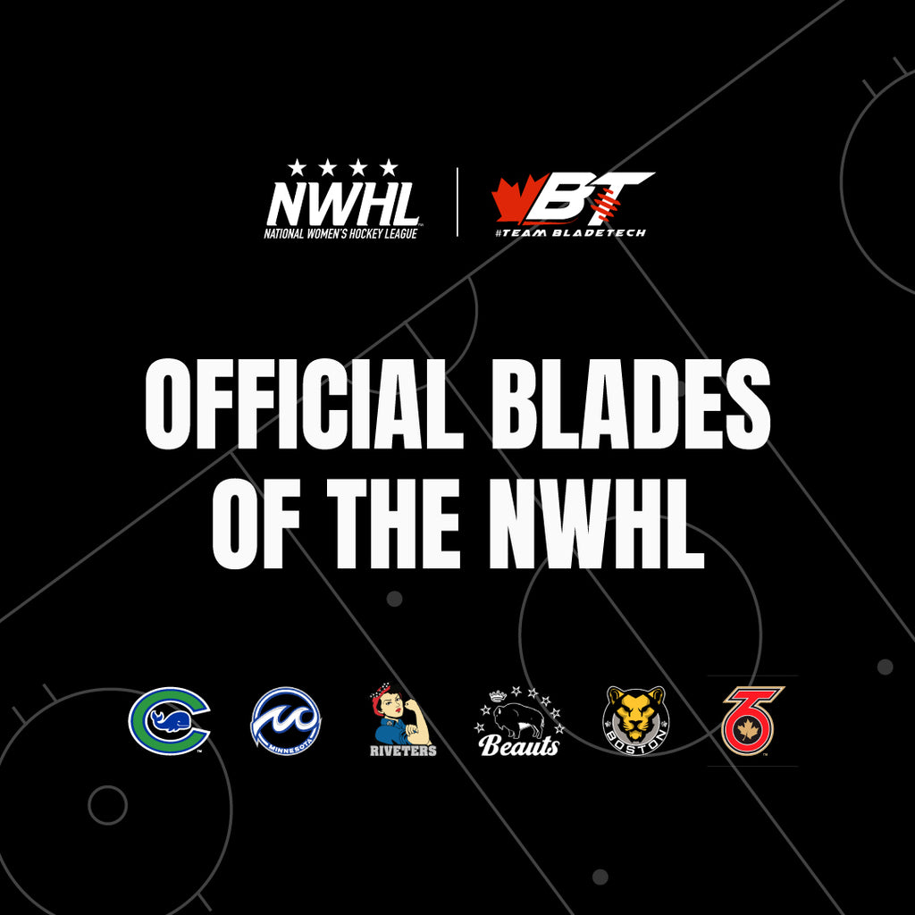 Bladetech Hockey Signs Deal to Become 'Official Blade of the NWHL'