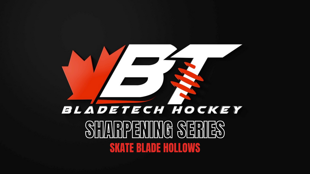 Bladetech Sharpening Series Part 1 - Skate Blade Hollows