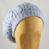 Womens Alpaca Wool Beret Light Blue