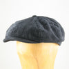 Navy Blue Corduroy Cap Mens