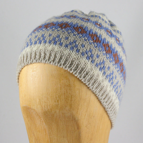 Wool Knit Beanie Pullover Hat