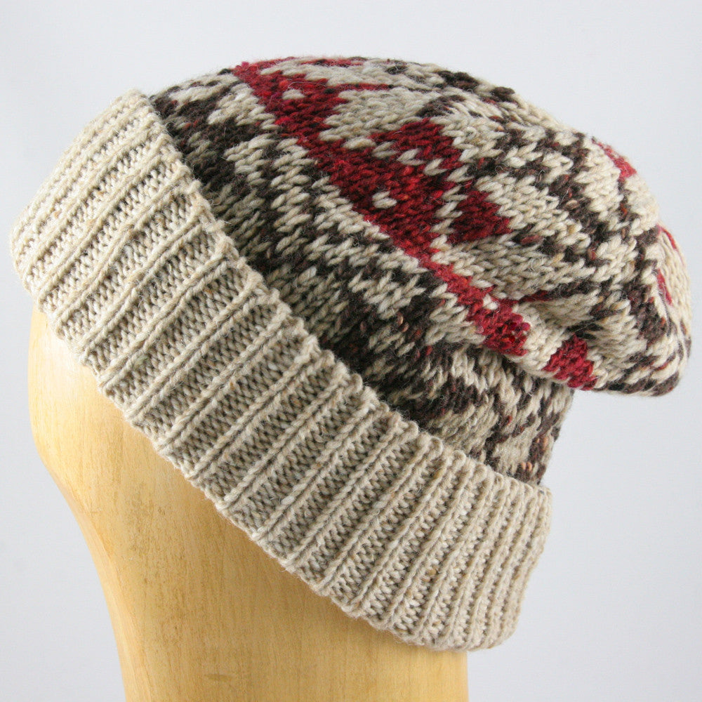 Womens and Mens knit beanie hat Shappos.com