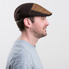 Mens Tweed Cap Brown