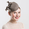 Womens Tweed Pillbox Hat