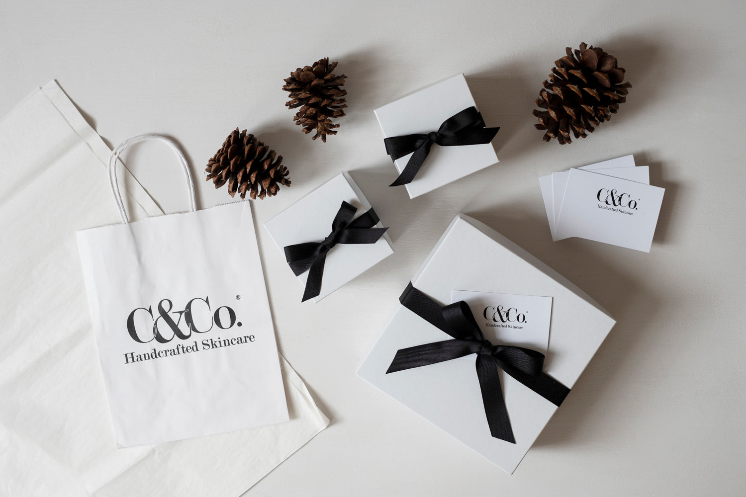 Gift Box, Ribbon & Card - C & Co.®