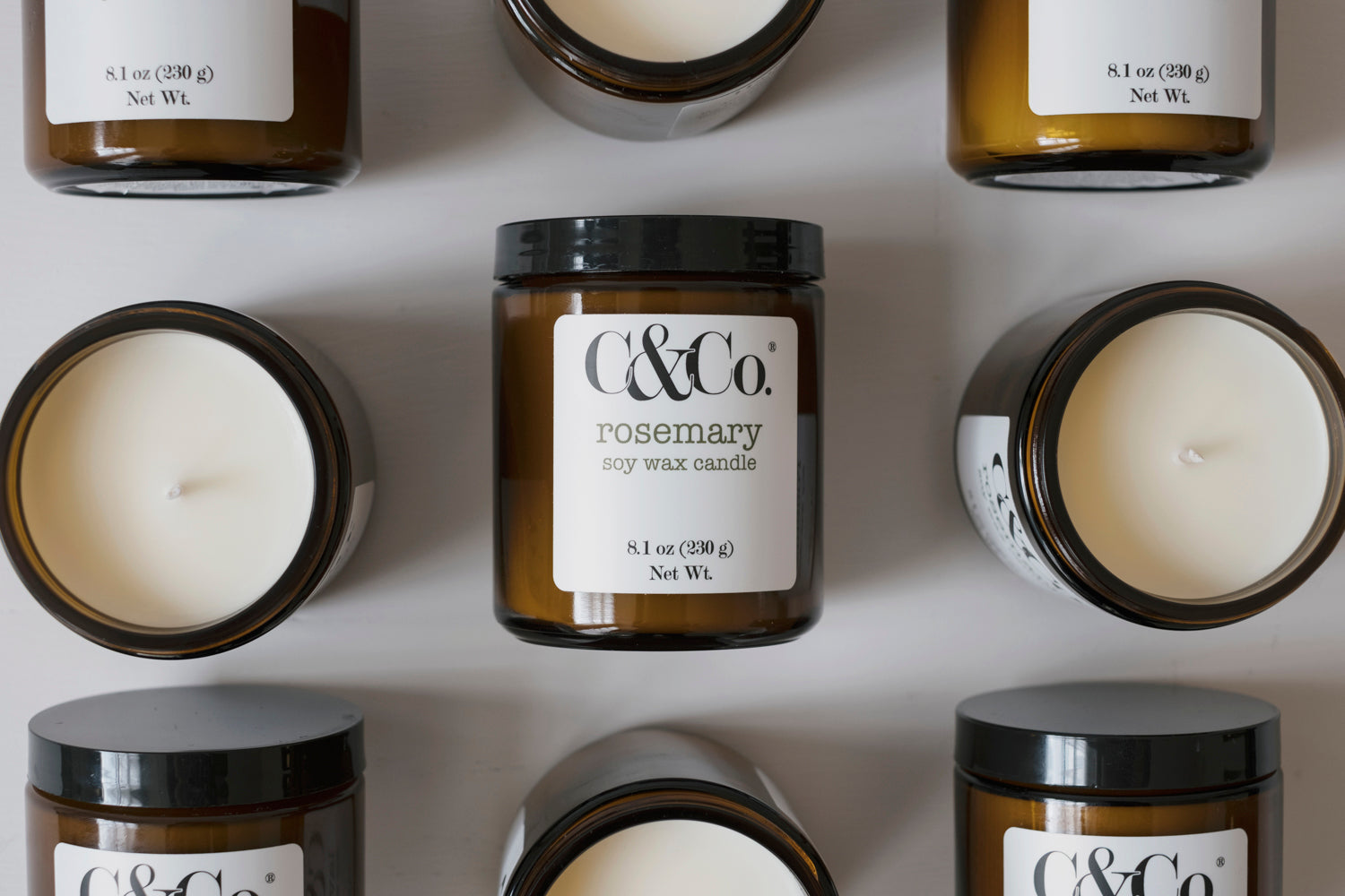 Rosemary Soy Wax Candle - C & Co.®