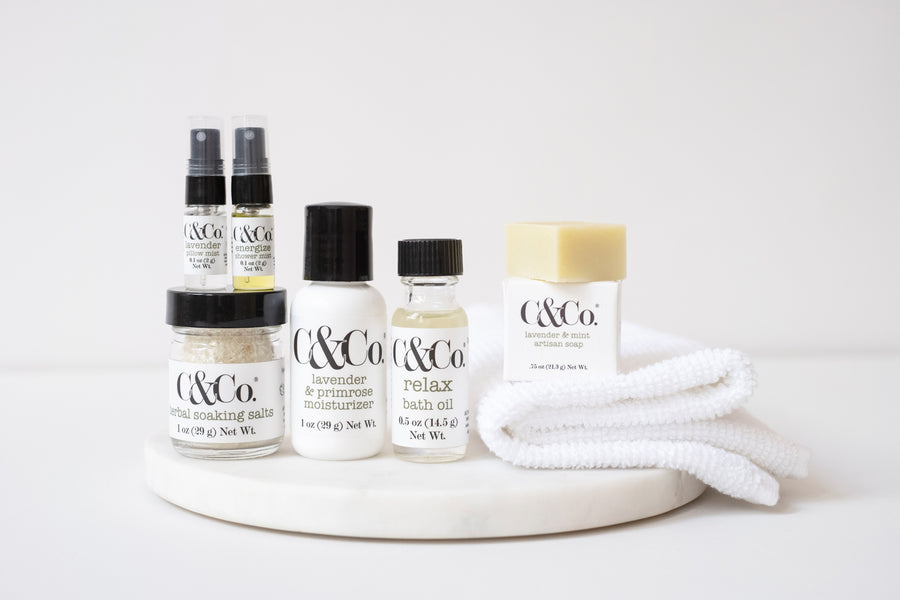 Mini Lavender Pillow/Aromatherapy Mist - C & Co.®