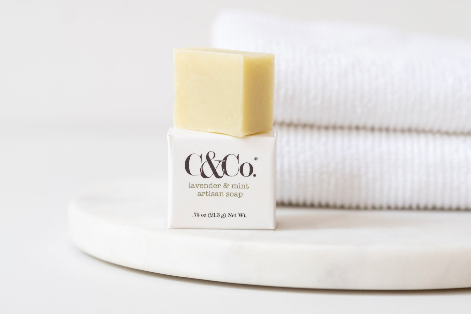 Mini Lavender Mint Artisan Soap - C & Co.®