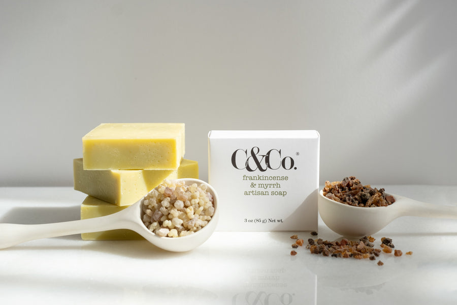 Frankincense & Myrrh Artisan Soap - C & Co.®