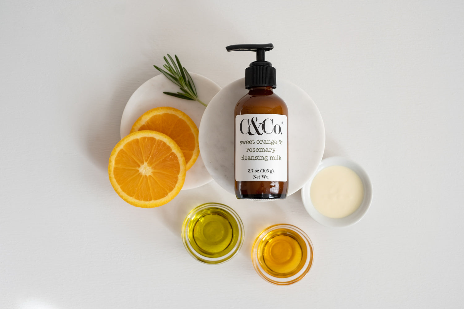 Sweet Orange & Rosemary Cleansing Milk - C & Co.®