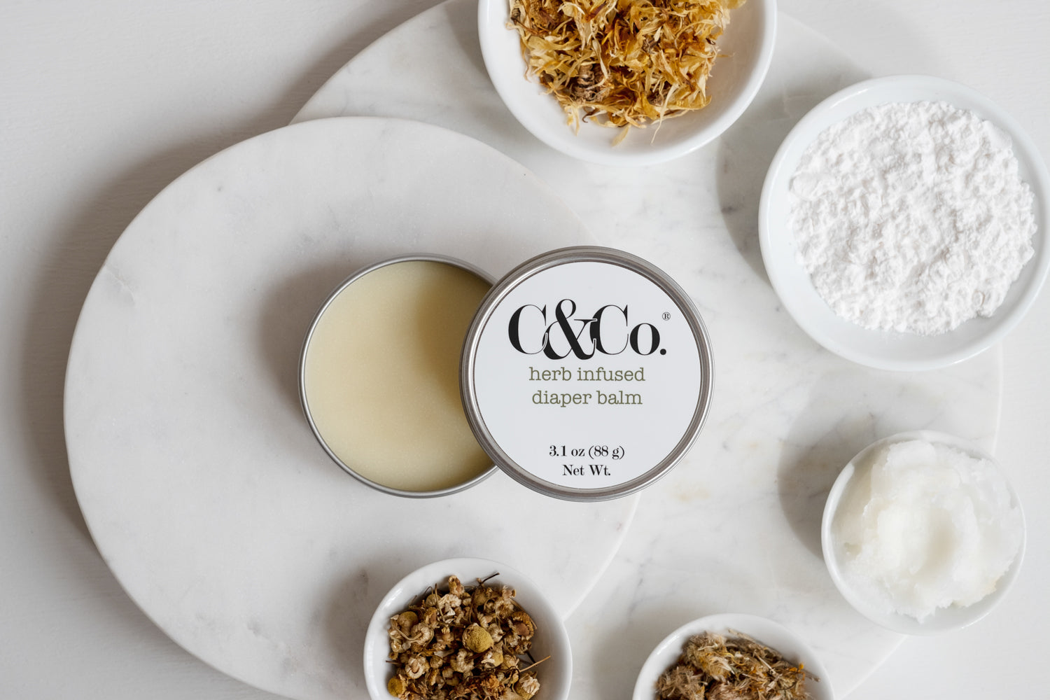 Herb Infused Diaper Balm - C & Co.®