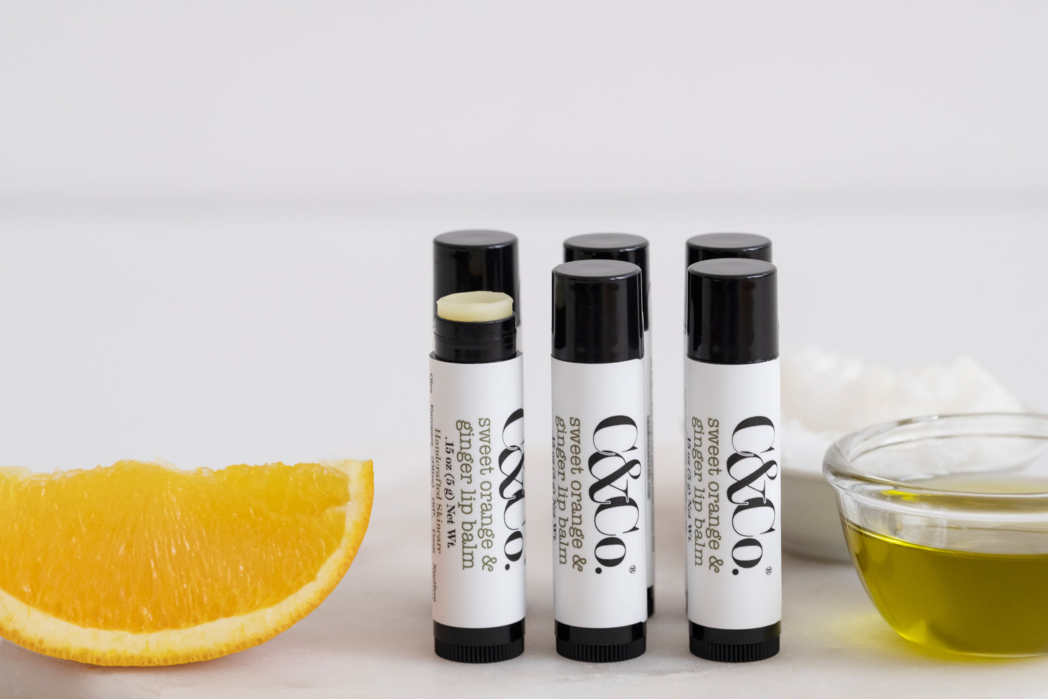 Sweet Orange & Ginger Lip Balm - C & Co.®