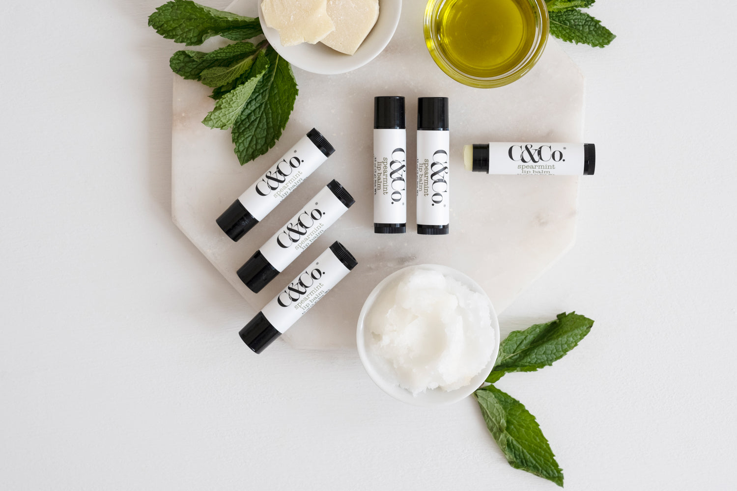 Spearmint Lip Balm - C & Co.
