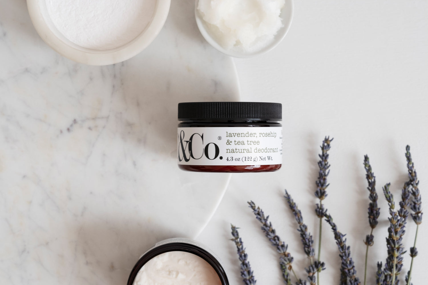 Lavender, Rosehip & Tea Tree Natural Deodorant - C & Co.®