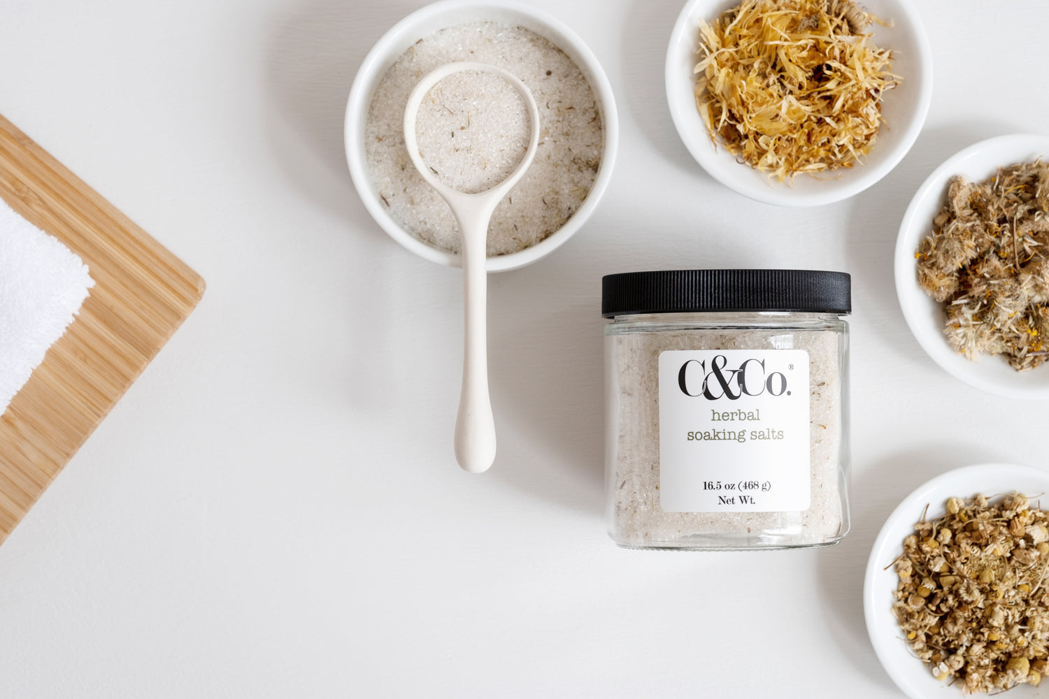 Herbal Soaking Salts - C & Co.®