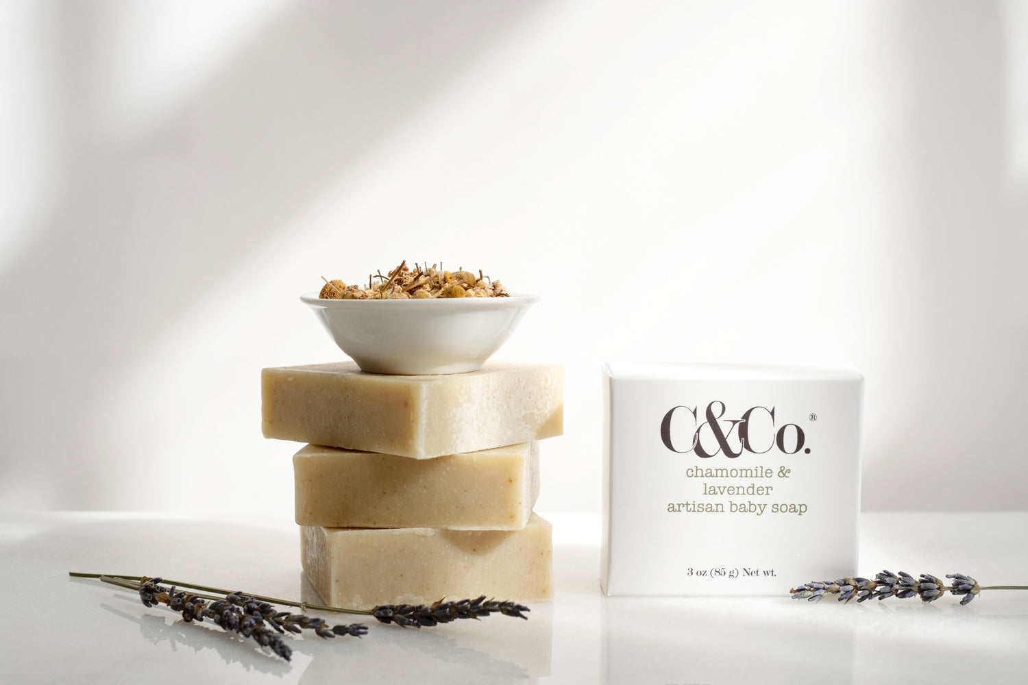 Chamomile & Lavender Artisan Baby Soap - C & Co.