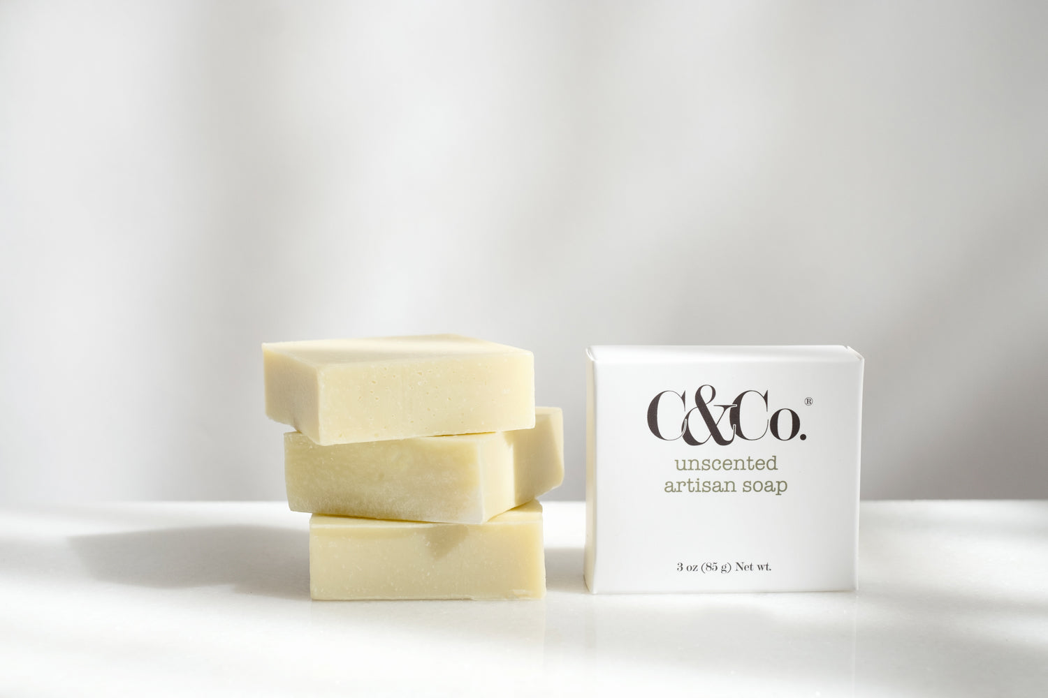 Unscented Artisan Soap - C & Co.