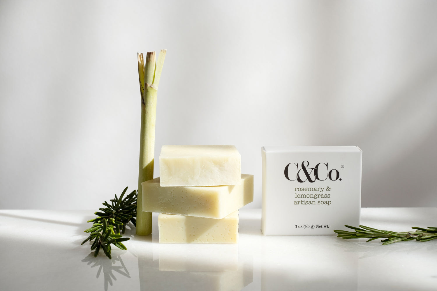 Rosemary & Lemongrass Artisan Soap - C & Co.®