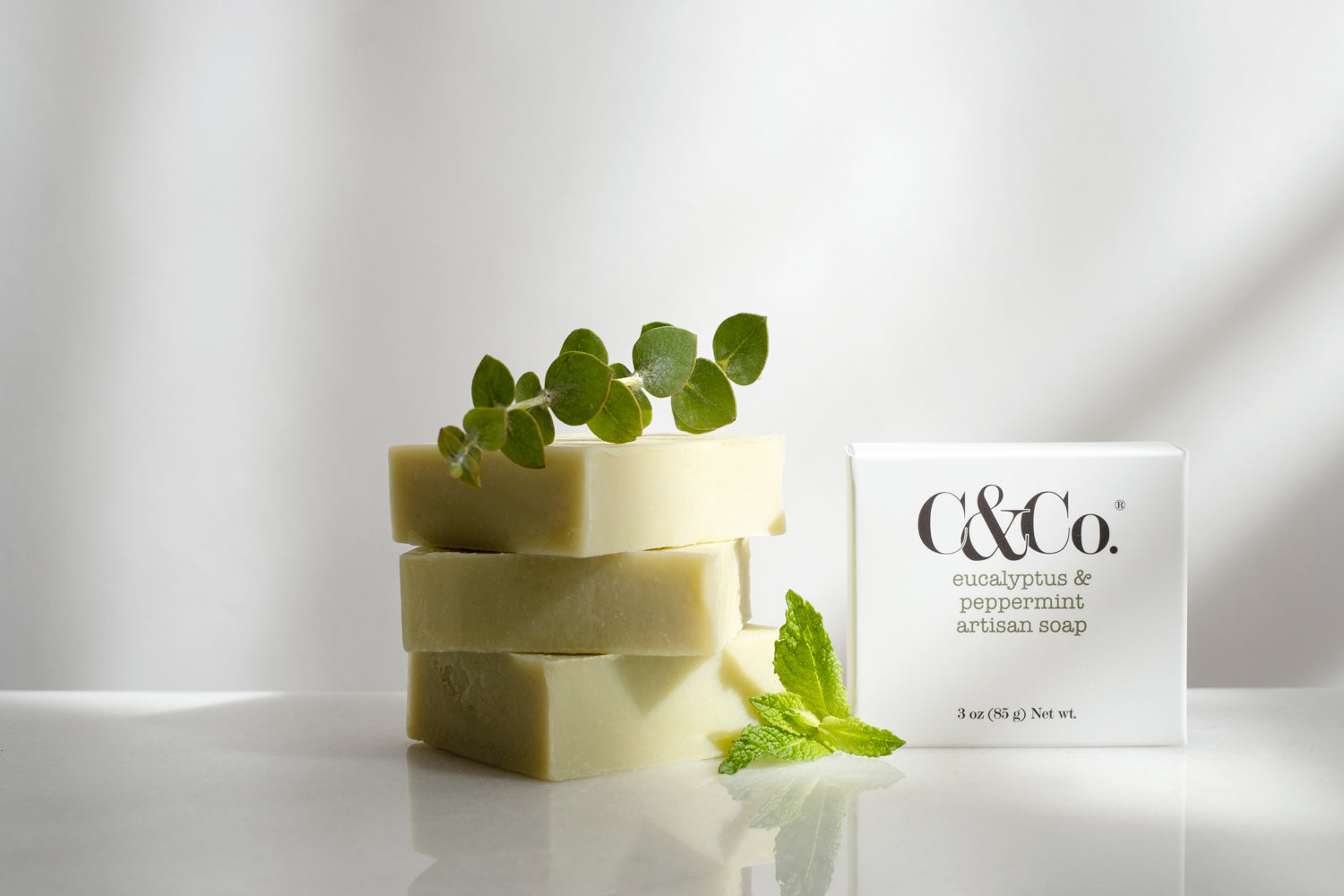 Eucalyptus & Peppermint Artisan Soap - C & Co.®
