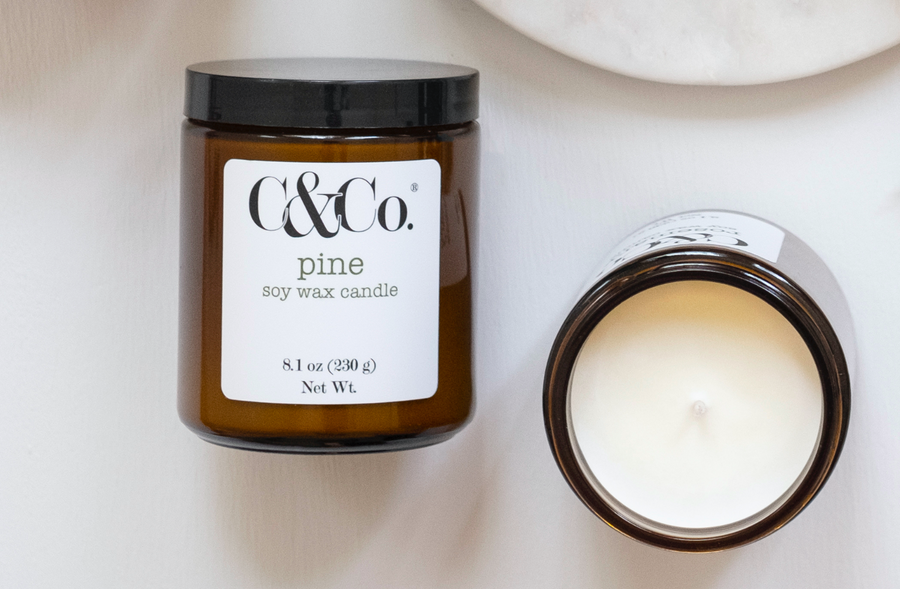 Pine Soy Wax Candle - C & Co.®