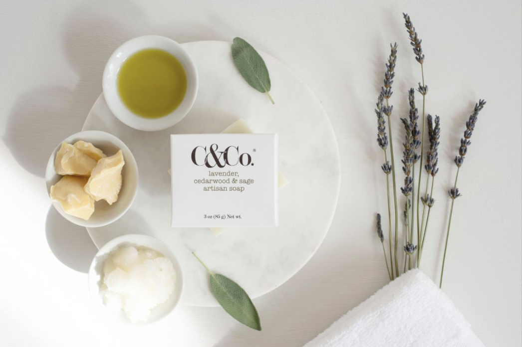 Lavender, Cedarwood & Sage Artisan Soap - C & Co.®
