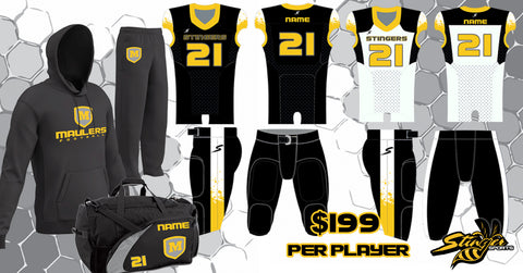 custom football uniform package
