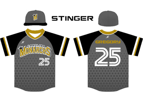 Stinger Honeycomb Custom Baseball Softball Jersey