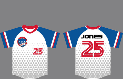 Stinger Honeycomb Custom Baseball Jersey