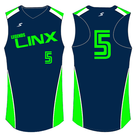Stinger Side Stripe Custom Softball Jersey